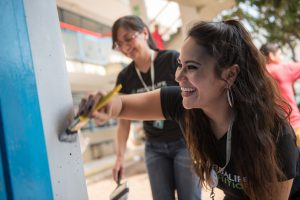 Voluntaria en México