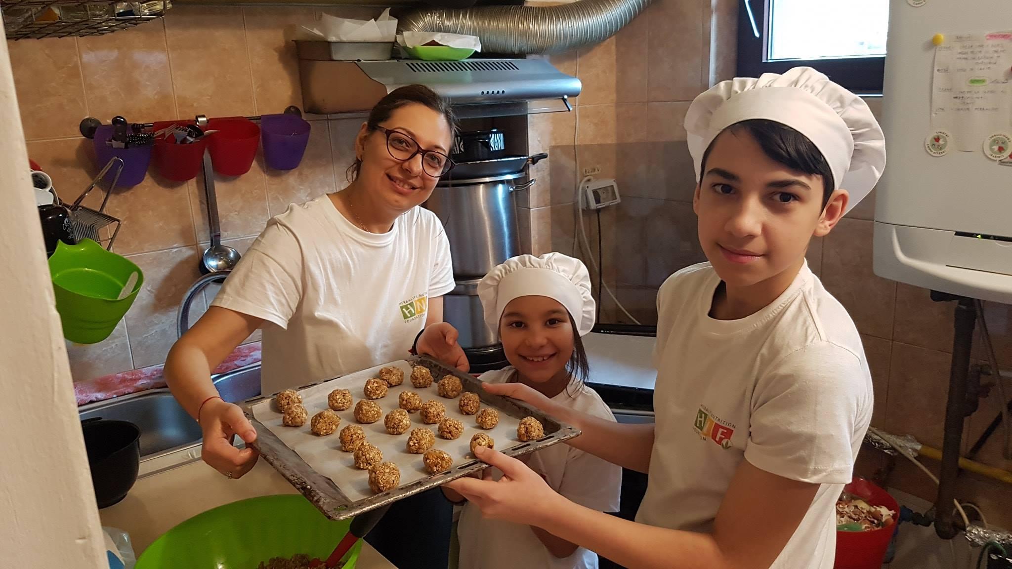 niños de fundación Herbalife Nutrition