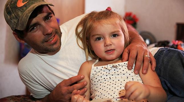 Al y su hija